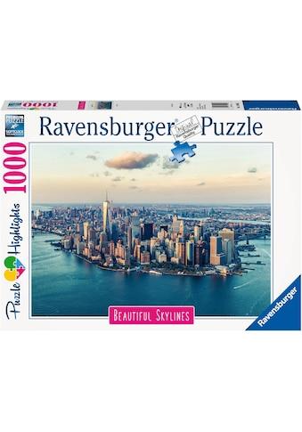 "Ravensburger Puzzle ""Puzzle Highlights Beautiful Skylines  -  New York"" kaufen"