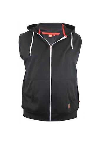 Duke Clothing Sweatweste »Herren Kapuzenweste Blake Kingsize ärmellos« kaufen