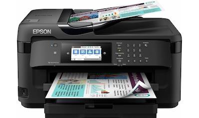 Epson »WorkForce WF - 7710DWF« Multifunktionsdrucker (WLAN (Wi - Fi),NFC) kaufen