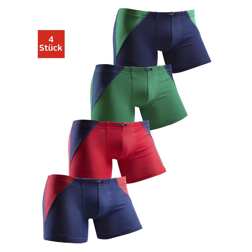 H.I.S Boxer, mit coolem Colorblocking für einen sportlichen Auftritt