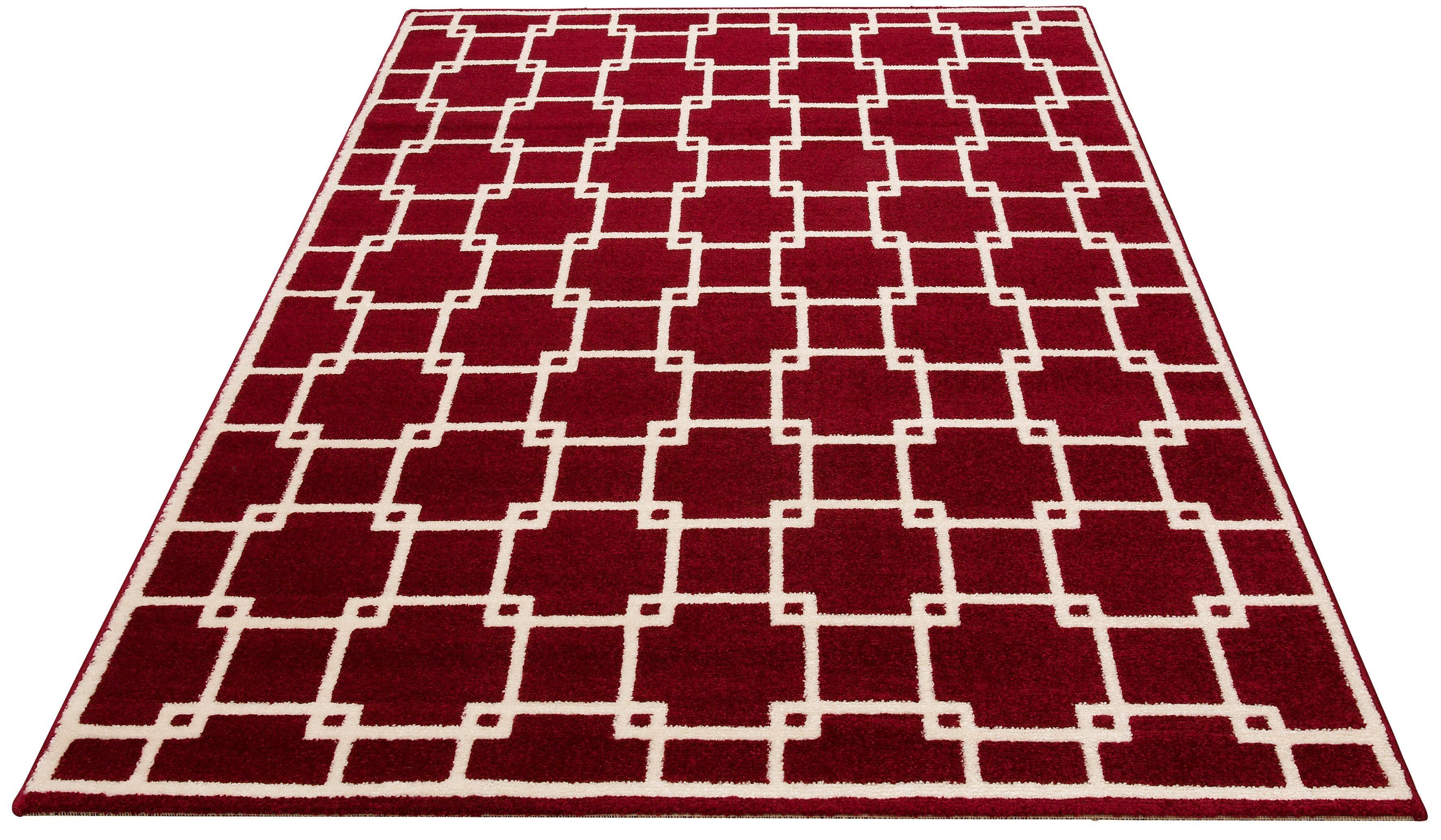 Teppich Lucian Bruno Banani rechteckig Höhe 14 mm maschinell gewebt