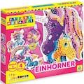 Sticky Mosaics Kreativset »Einhörner«