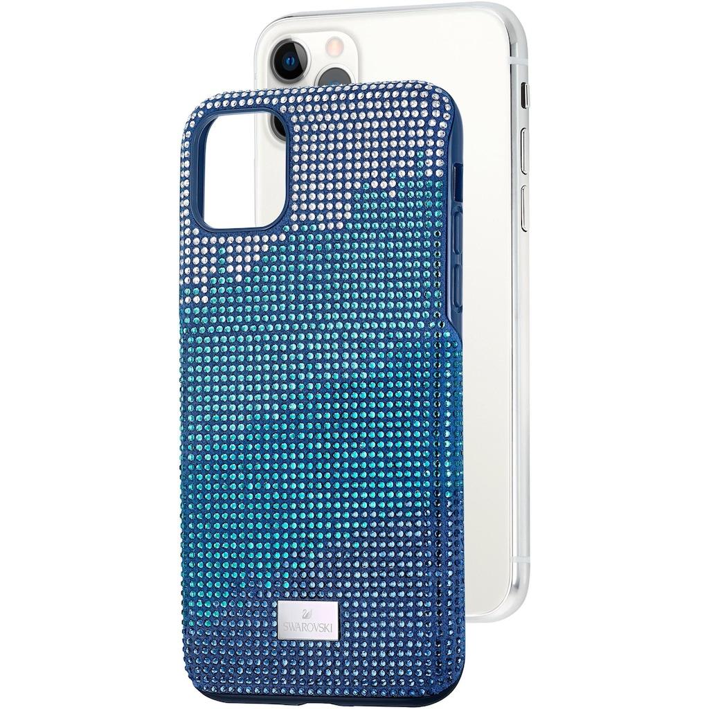 Swarovski Smartphone-Hülle »Crystalgram Smartphone Schutzhülle mit integriertem Stoßschutz, iPhone® 11 Pro Max, blau, 5533965«, iPhone 11 Pro Max, mit Swarovski® Kristallen