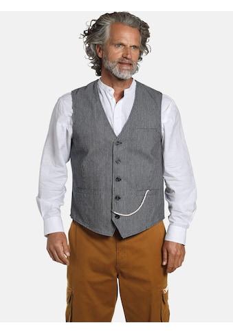 Jan Vanderstorm Anzugweste »TORVIND«, mit Nadelstreifenmuster kaufen