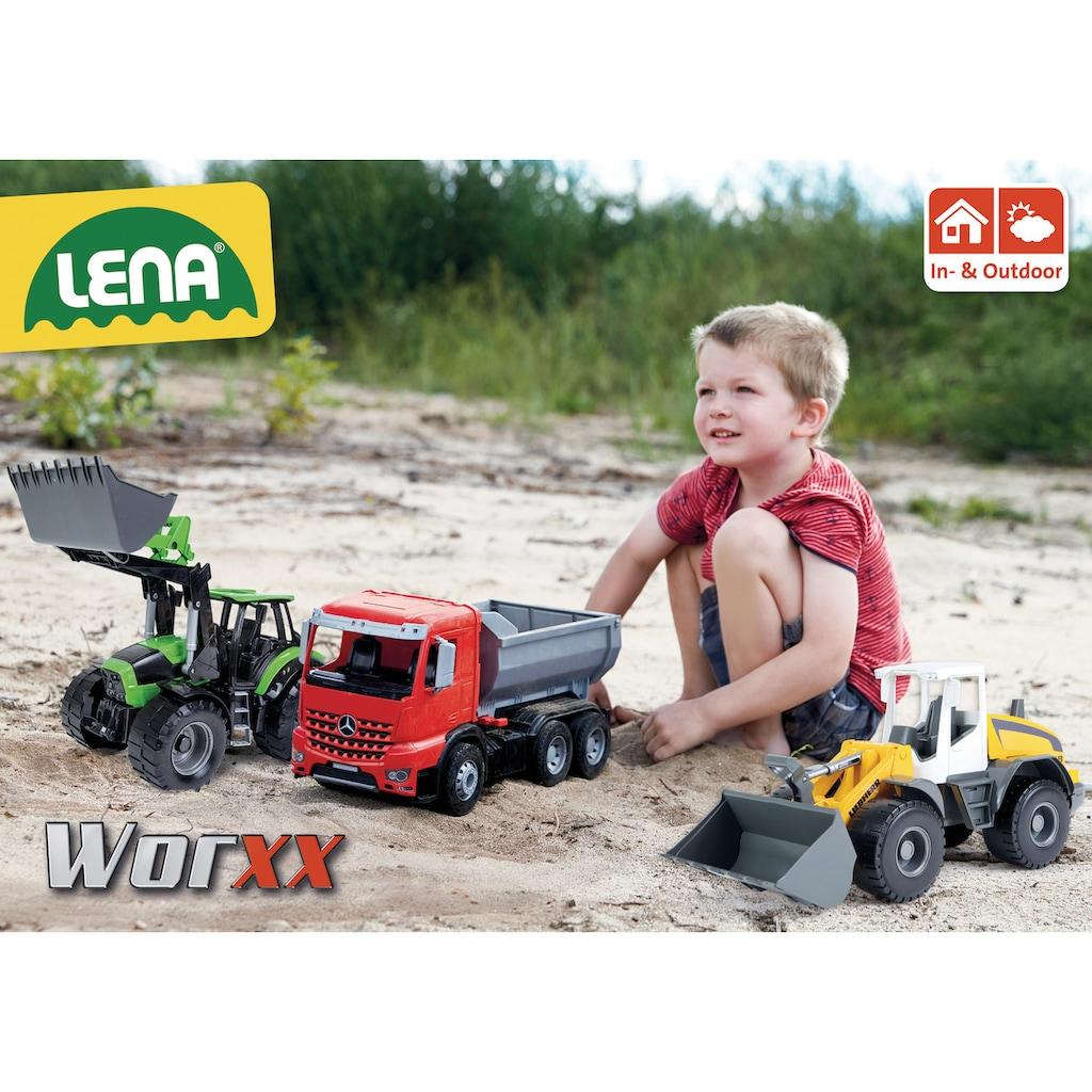 Lena® Spielzeug-Müllwagen »Worxx, Mercedes-Benz Arocs«, Made in Europe