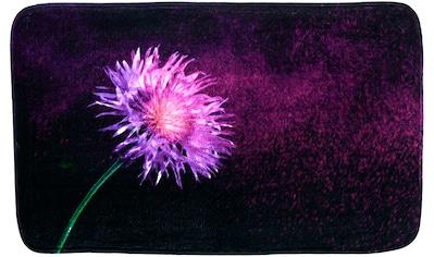 Sanilo Badematte »Purple Dust«, Höhe 15 mm, schnell trocknend, Memory Schaum kaufen