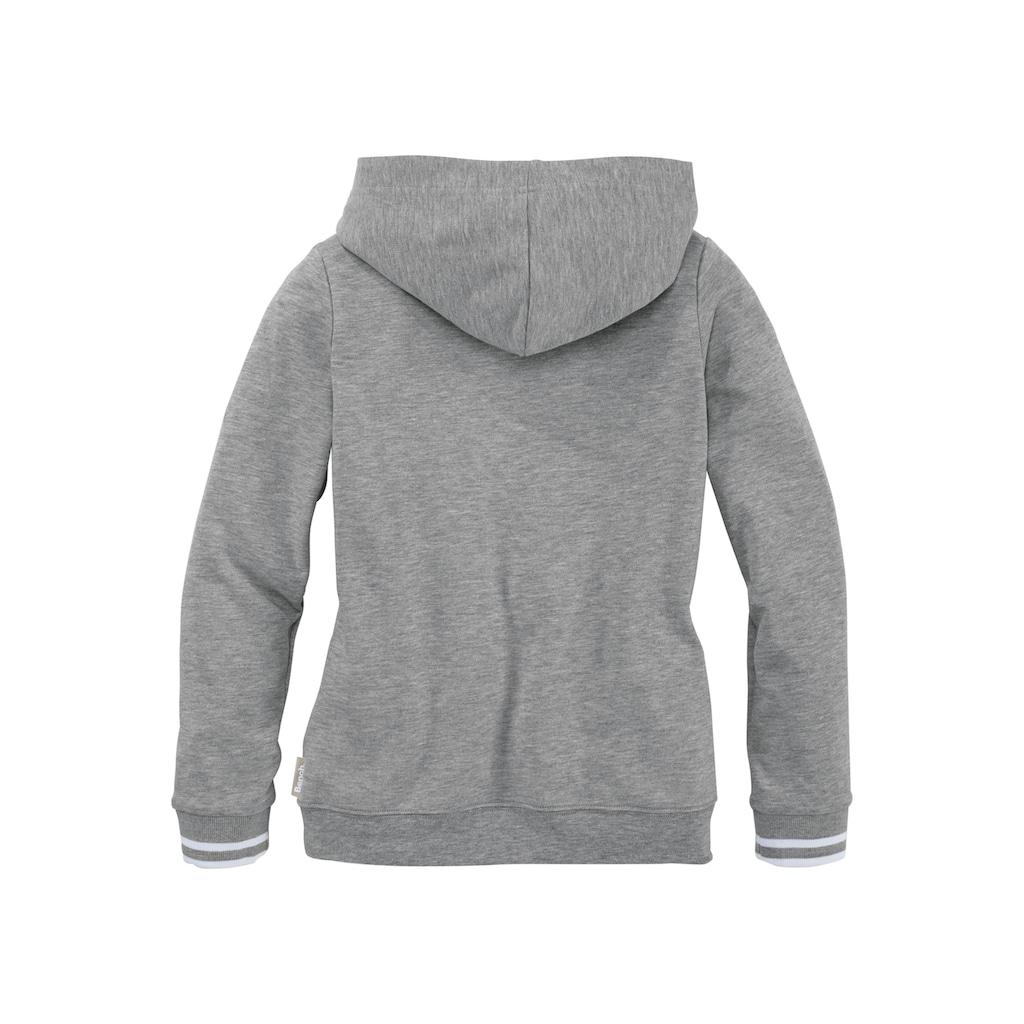 Bench. Kapuzensweatshirt, mit Frontdruck