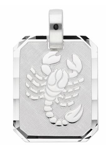 Adelia´s Kettenanhänger »925 Silber Sternzeichen Anhänger Skorpion« kaufen