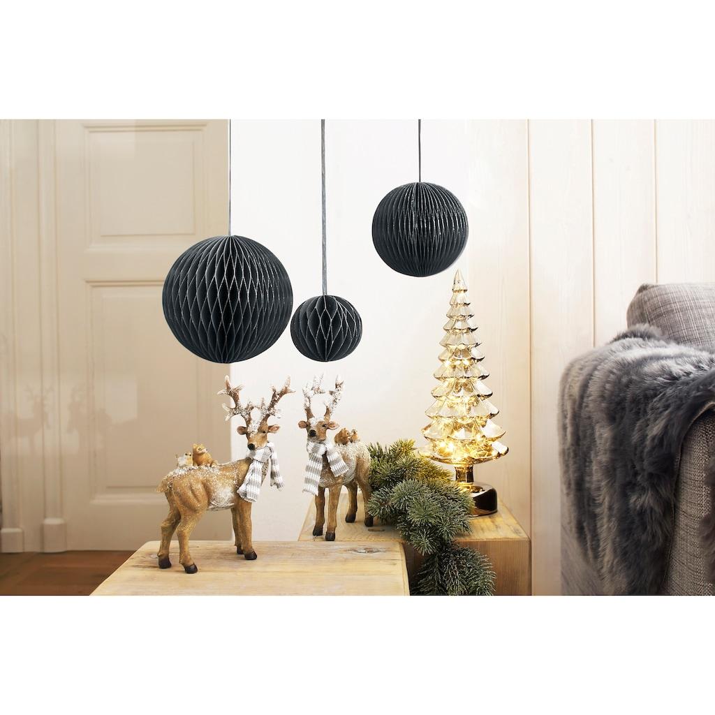 LeGer Home by Lena Gercke Dekohänger »Kosma«, aus Papier in Kugelform, Ø 10, 15, 21 cm, Weihnachtsdekoration