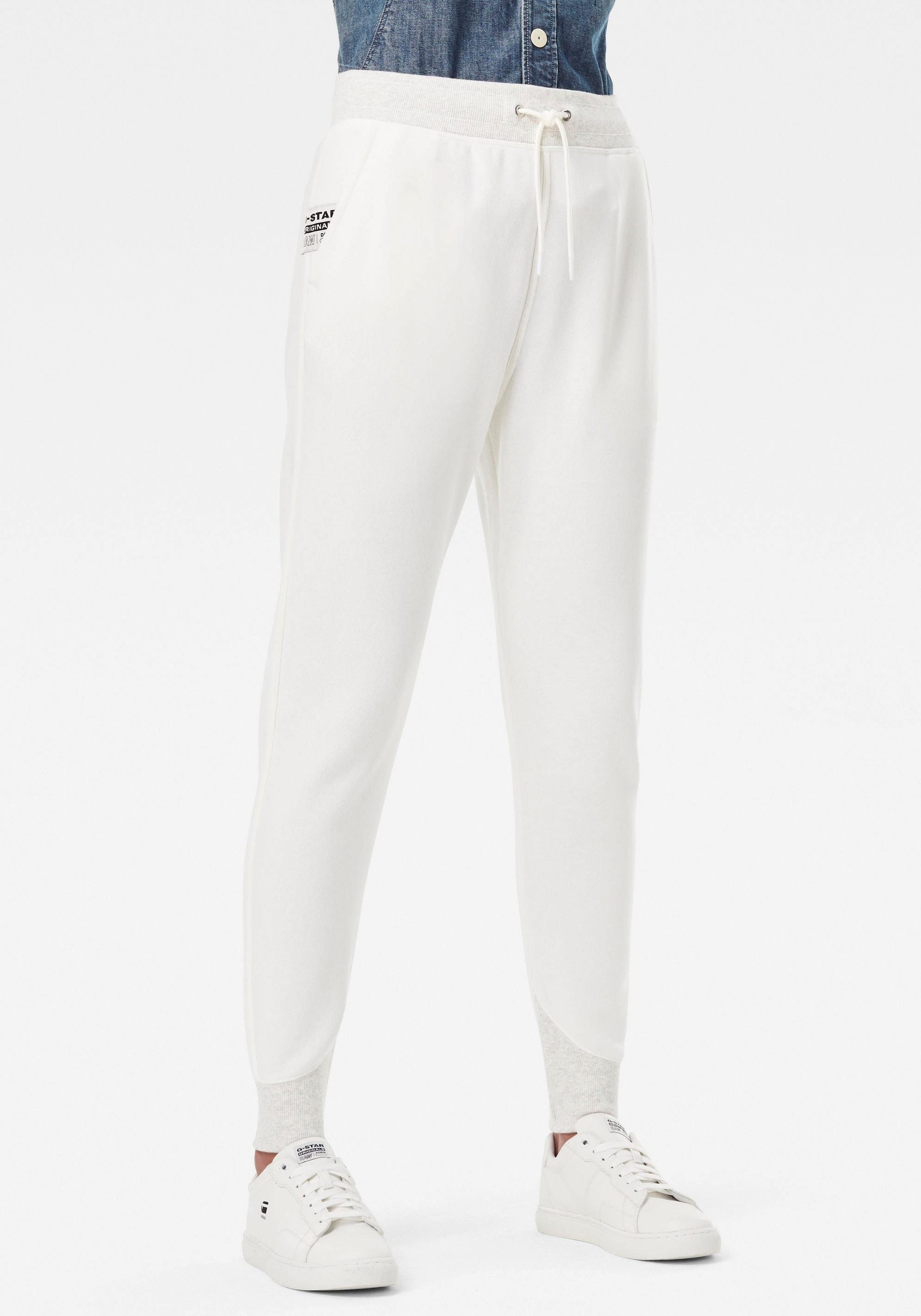 g-star raw -  Sweatpants Premium Core 3D Tapered Sweatpants, 3D Jogginghose mit abgerundeter Designlinie am Knöchel