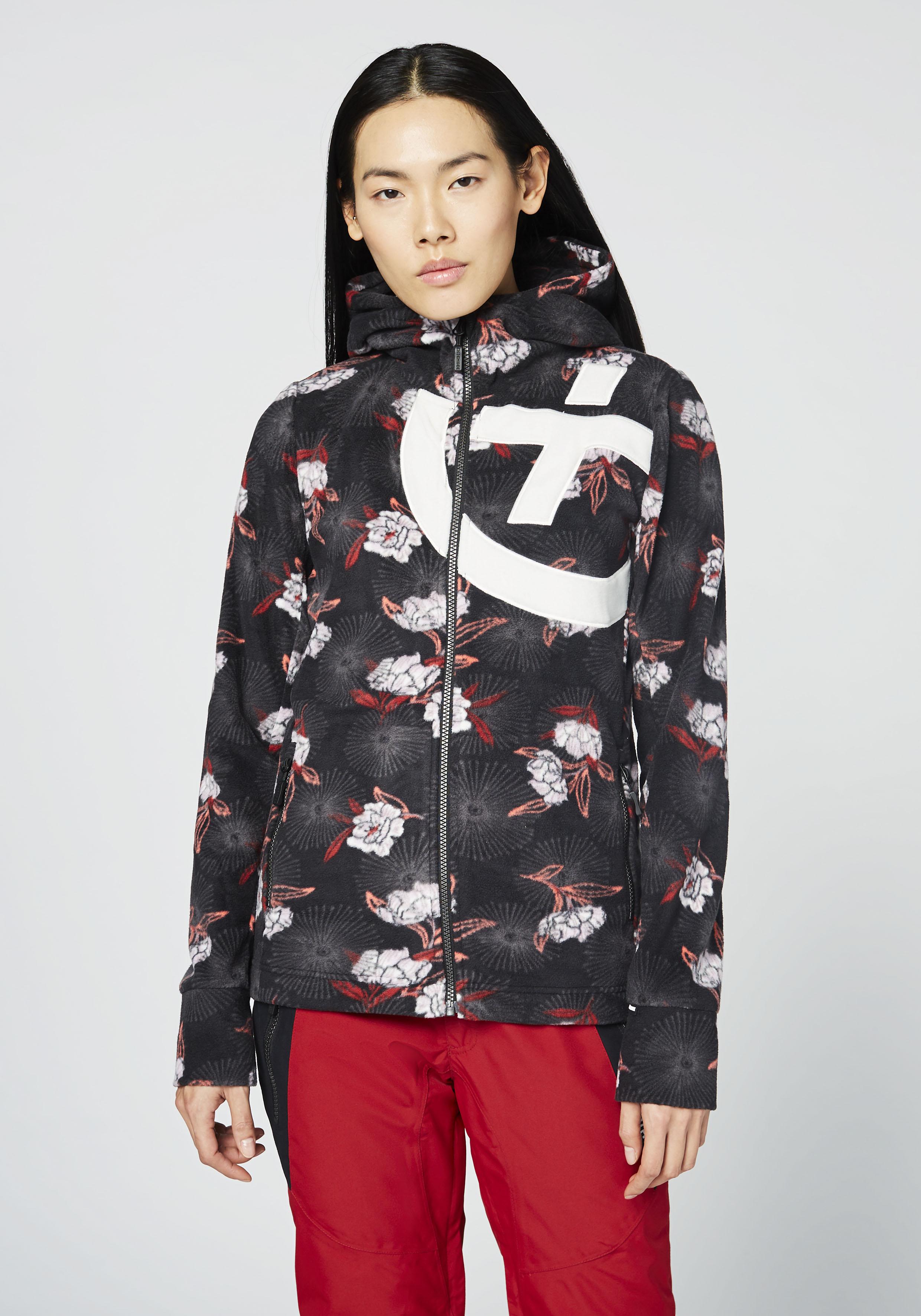 Chiemsee Sweatjacke Fleecejacke für Damen | Bekleidung > Sweatshirts & -jacken > Sweatjacken | Schwarz | Chiemsee