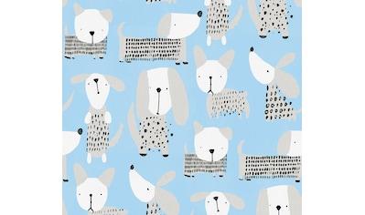 living walls Papiertapete »Boys & Girls«, Kinderzimmertapete mit niedlichen Hunden, umweltfreundlich kaufen
