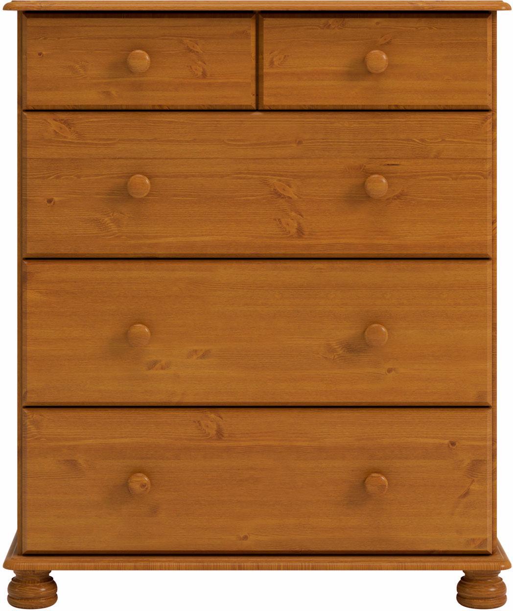 Home affaire Kommode »Richmond« mit 5 Schubladen, Breite 82 cm