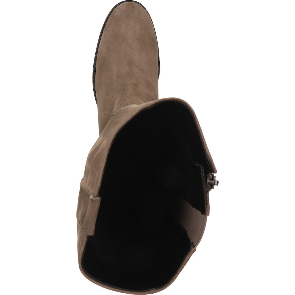 Gabor Stiefel »Leder/Textil«