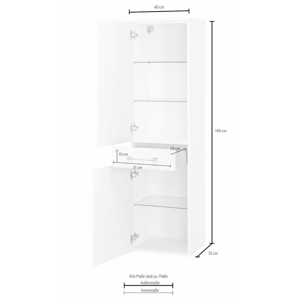 MARLIN Midischrank »Sola 3130«, Höhe 149 cm, vormontiert