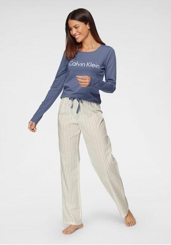 Calvin Klein Pyjama, mit gestreifter Hose kaufen