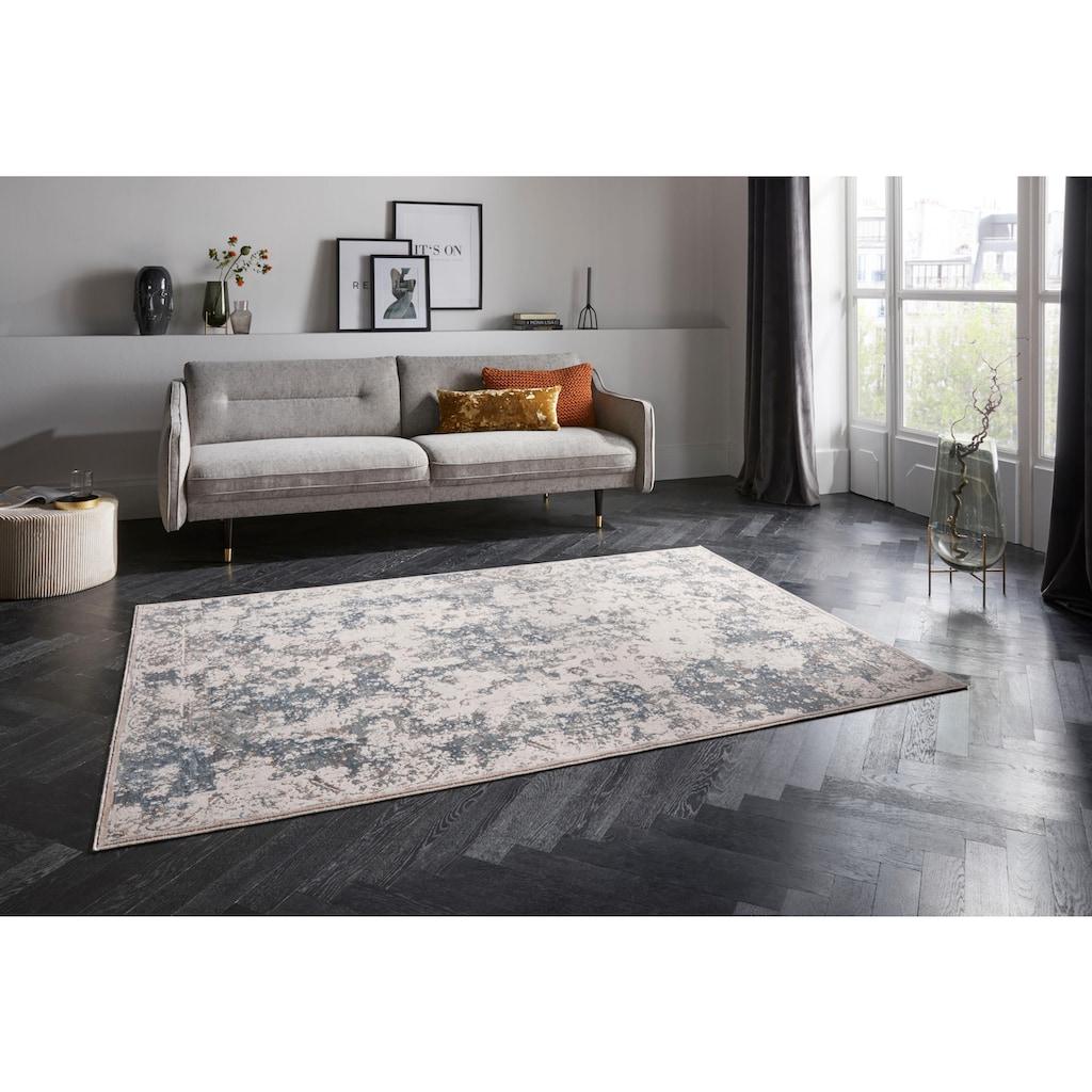 ELLE Decor Teppich »Corrèze«, rechteckig, 6 mm Höhe, Viskose, Wohnzimmer