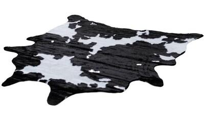 Teppich, »Rodeo 202«, LALEE, fellförmig, Höhe 17 mm, maschinell gewebt kaufen