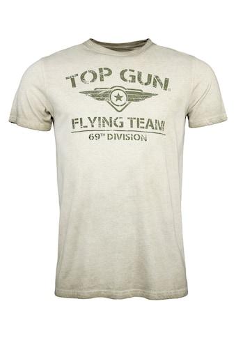 TOP GUN T-Shirt »Ease«, sportlicher Schnitt kaufen
