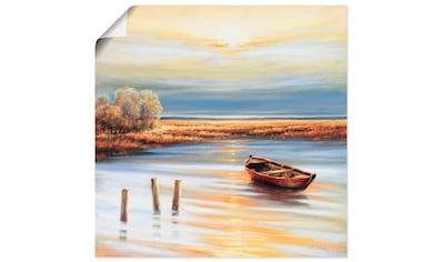 Artland Wandbild »Küstenlinie« kaufen