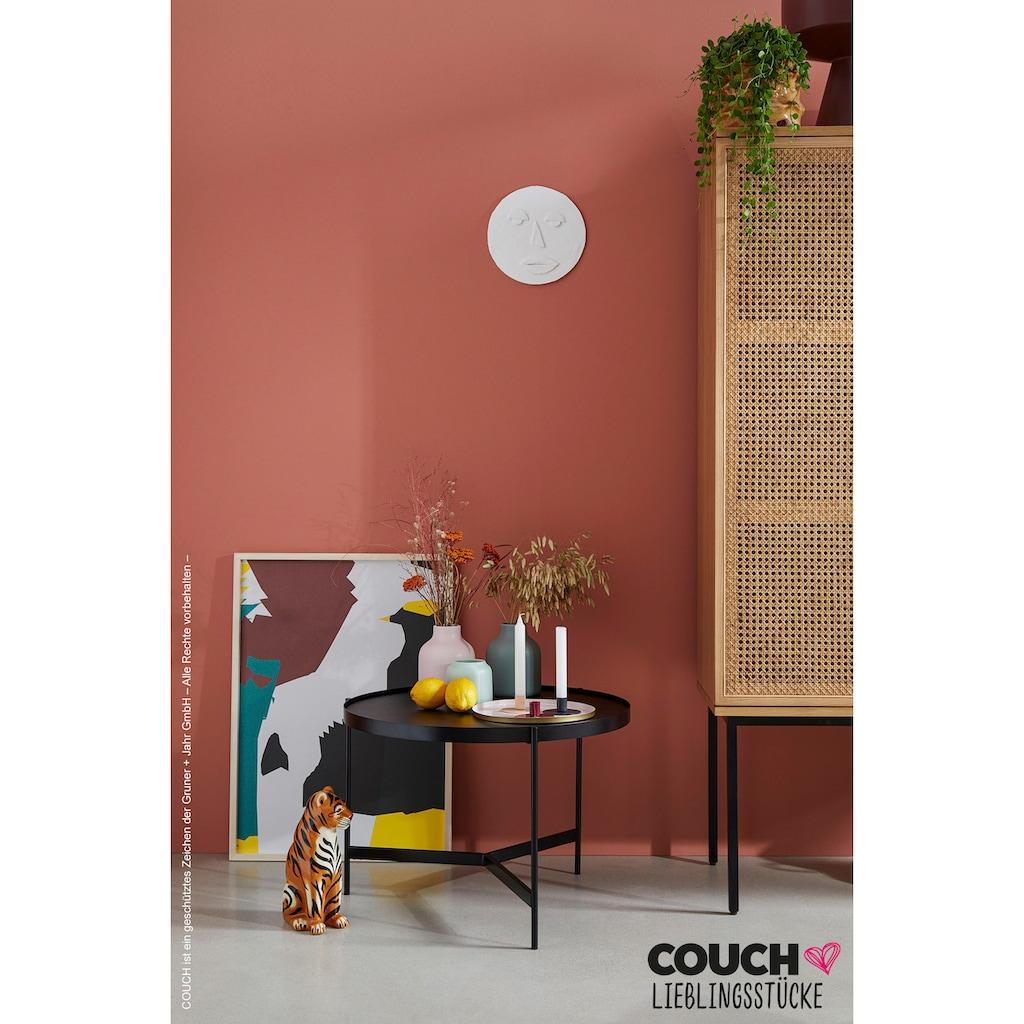 COUCH♥ Couchtisch »Three Sisters«, aus Metall mit Tischplatte aus Glas, COUCH Lieblingsstücke