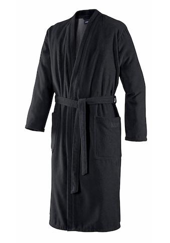 Joop! Herrenbademantel »Uni Kimono«, in extraflauschiger Qualität kaufen