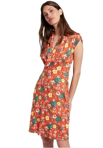 TOM TAILOR Jerseykleid, mit Wickel-Effekt kaufen