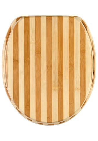 Sanilo WC-Sitz »Bambus Gestreift« kaufen