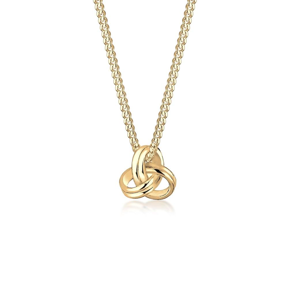 Elli Collierkettchen »Knoten 585 Gelbgold«