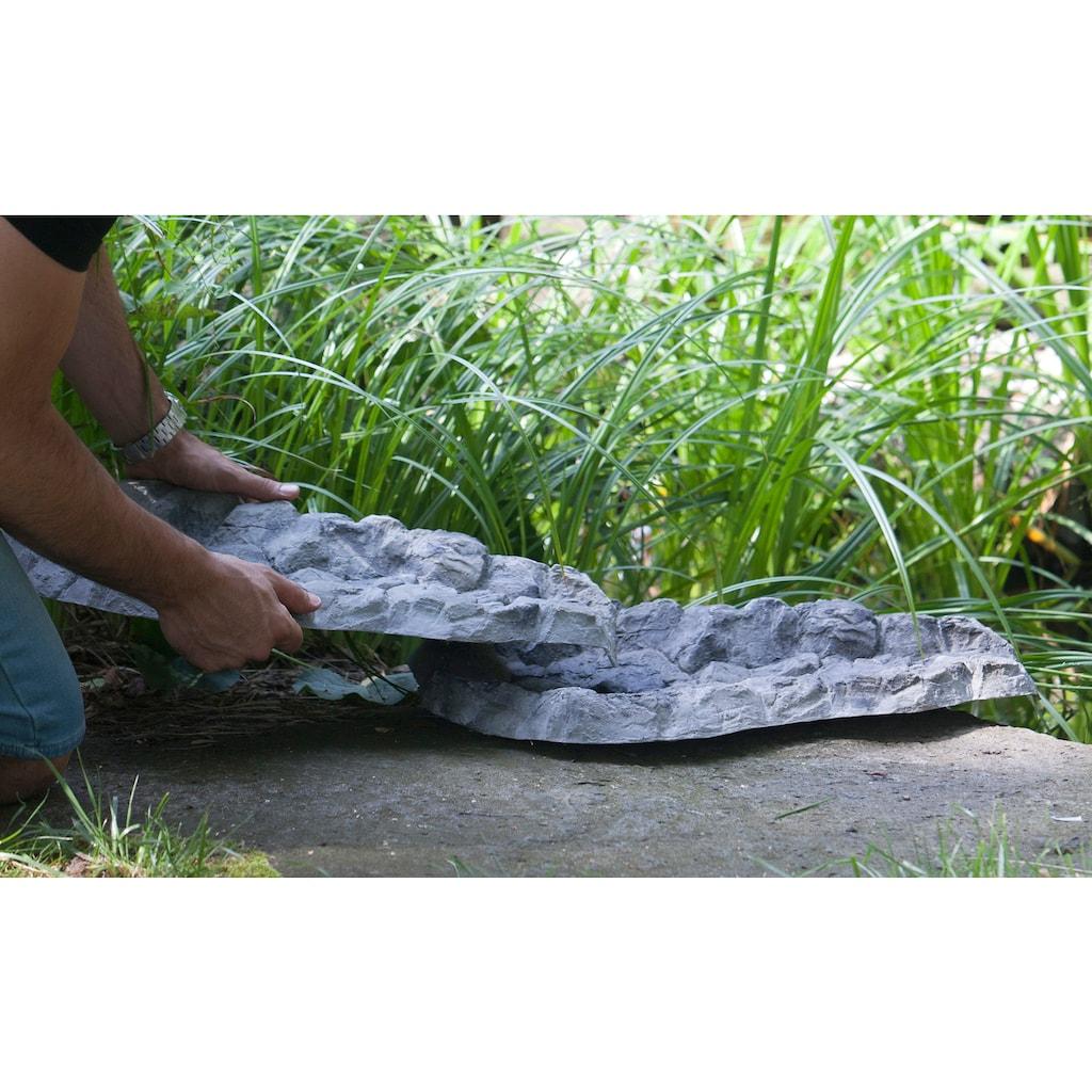 Heissner Bachlaufschale, BxTxH: 43x62x7 cm, felsgrau