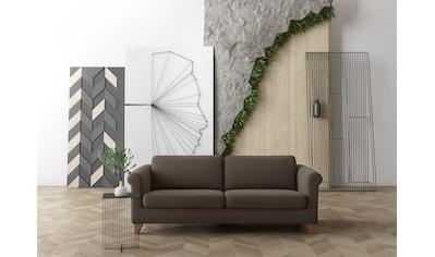 machalke® 3-Sitzer »amadeo«, mit geschwungenen Armlehnen, Breite 213 cm kaufen