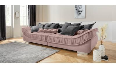 Leonique Big-Sofa »Diwan Luxus«, mit besonders hochwertiger Polsterung für bis zu 140... kaufen