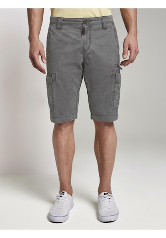 TOM TAILOR Bermudas »Cargo Bermuda - Shorts im Washed - Look« kaufen