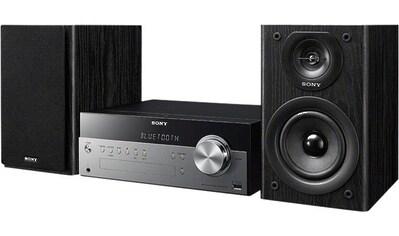 Sony »CMTSBT100B« Microanlage (FM - Tuner,Digitalradio (DAB+), 50 Watt) kaufen