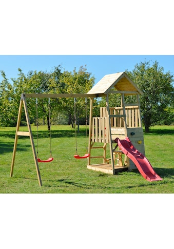 Wendi Toys Spielturm »Wendi Toys Flamingo«, BxTxH: 340x280x270 cm kaufen