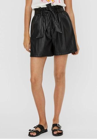 Vero Moda Shorts »VMSOLARIE«, aus Lederimitat kaufen