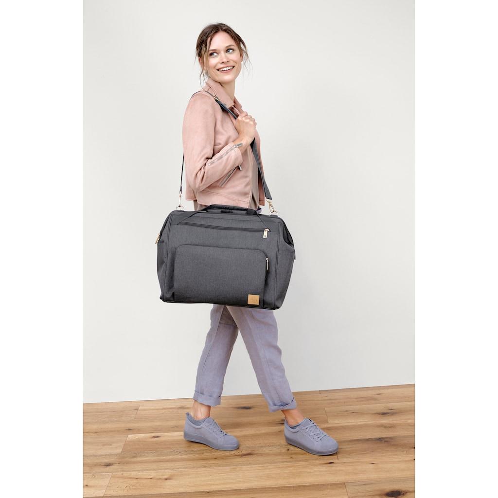 Lässig Wickeltasche »Glam Goldie Twin, Backpack Anthracite«