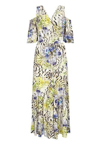 Nicowa Sommerliches Maxikleid NERMILIA mit floralem Muster kaufen