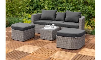 MERXX Loungebett »Madeira«, Polyrattan kaufen