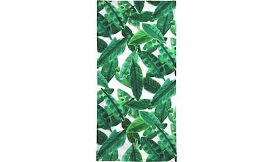 Juniqe Handtuch »Small Palm Leaves«, (1 St.), Weiche Frottee-Veloursqualität kaufen