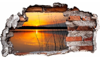 Wandtattoo »Sonnenuntergang am See« kaufen