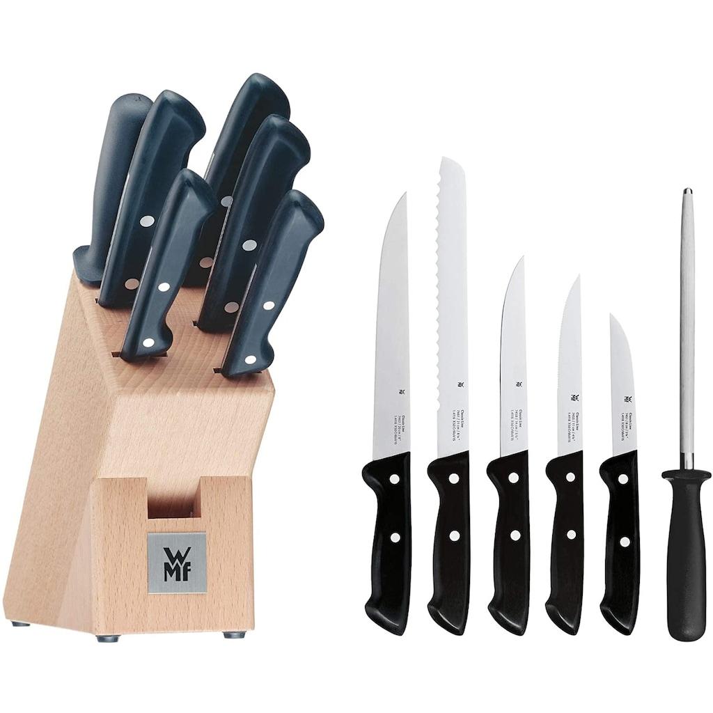 WMF Messerblock »Classic Line«, 7 tlg., Messerklingen aus Spezialklingenstahl