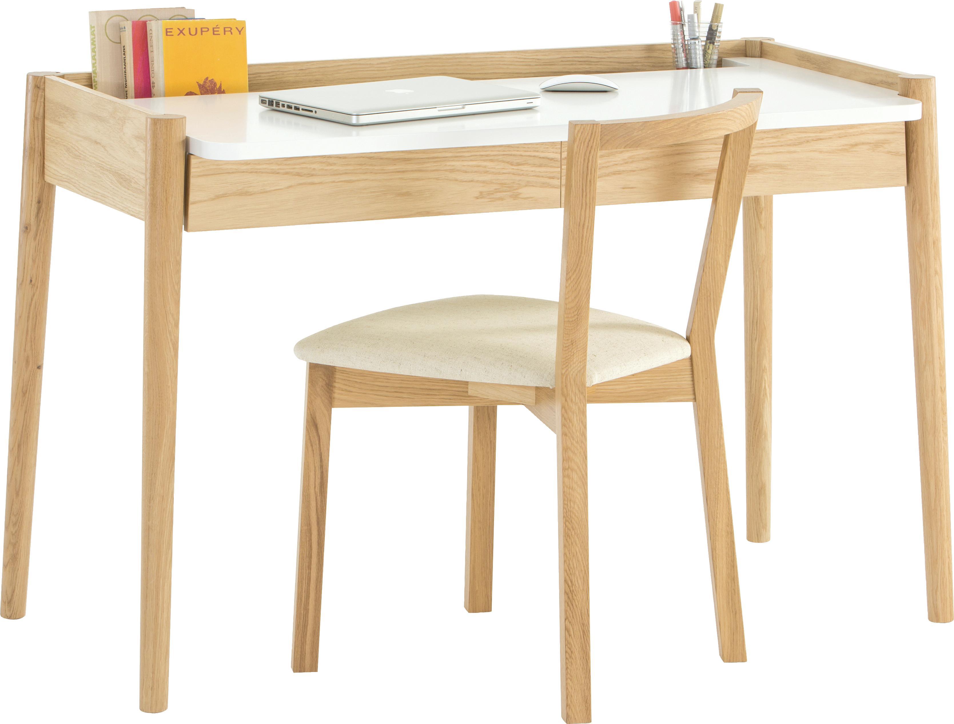 Woodman Schreibtisch Feldbach im schlichten skandinavischen Design
