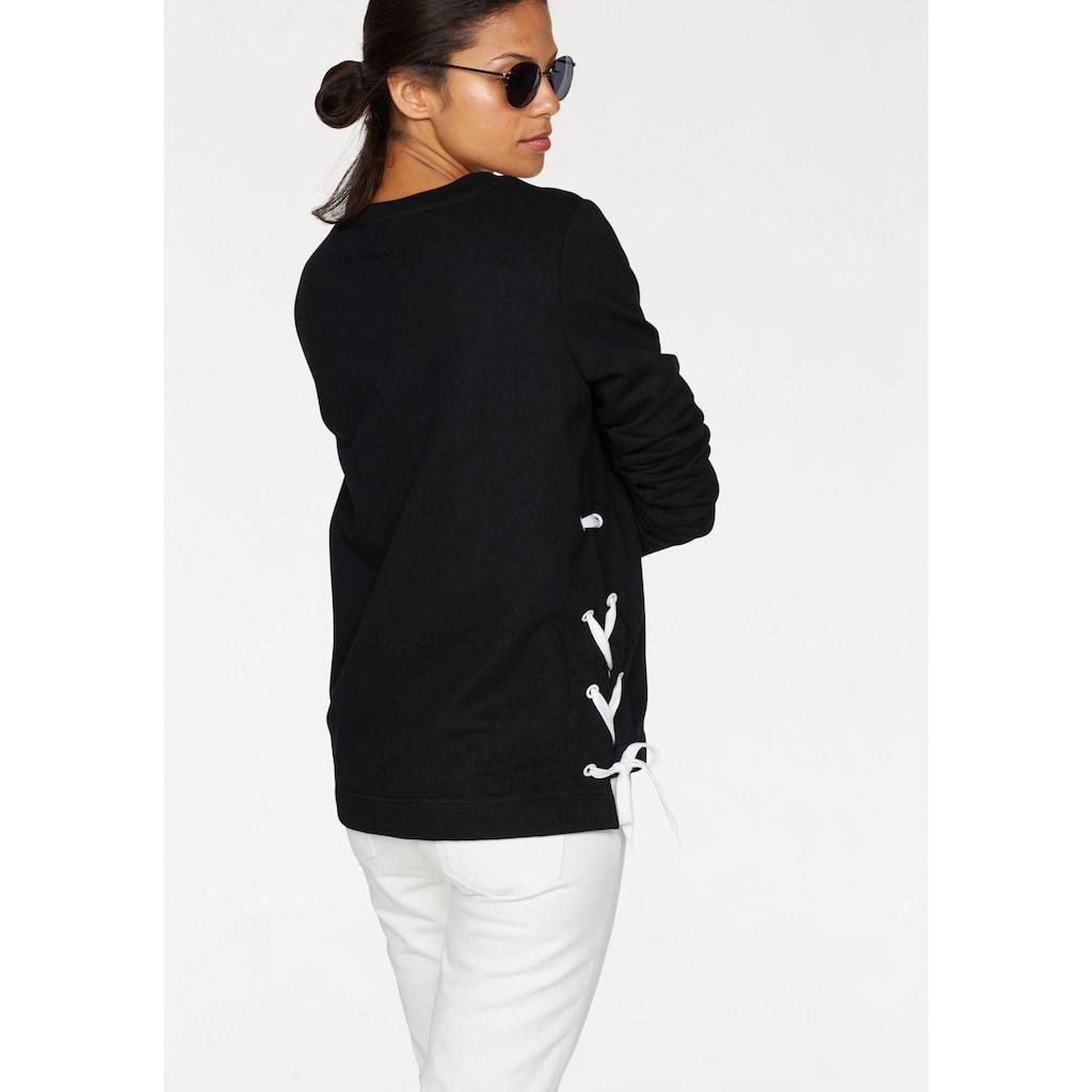 Ocean Sportswear Sweatshirt, mit seitlichem Kordeldurchzug