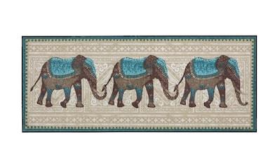 Fußmatte ELEFANTEN Elefant, waschbar kaufen