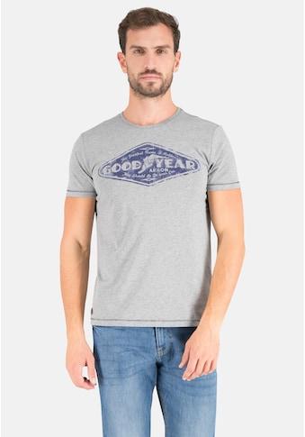 Goodyear T-Shirt »Langhorne«, mit großem Markenprint kaufen