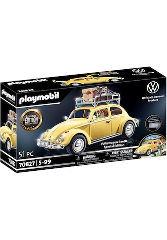 Playmobil® Konstruktions-Spielset »Volkswagen Käfer - Special Edition (70827)«, Made... kaufen