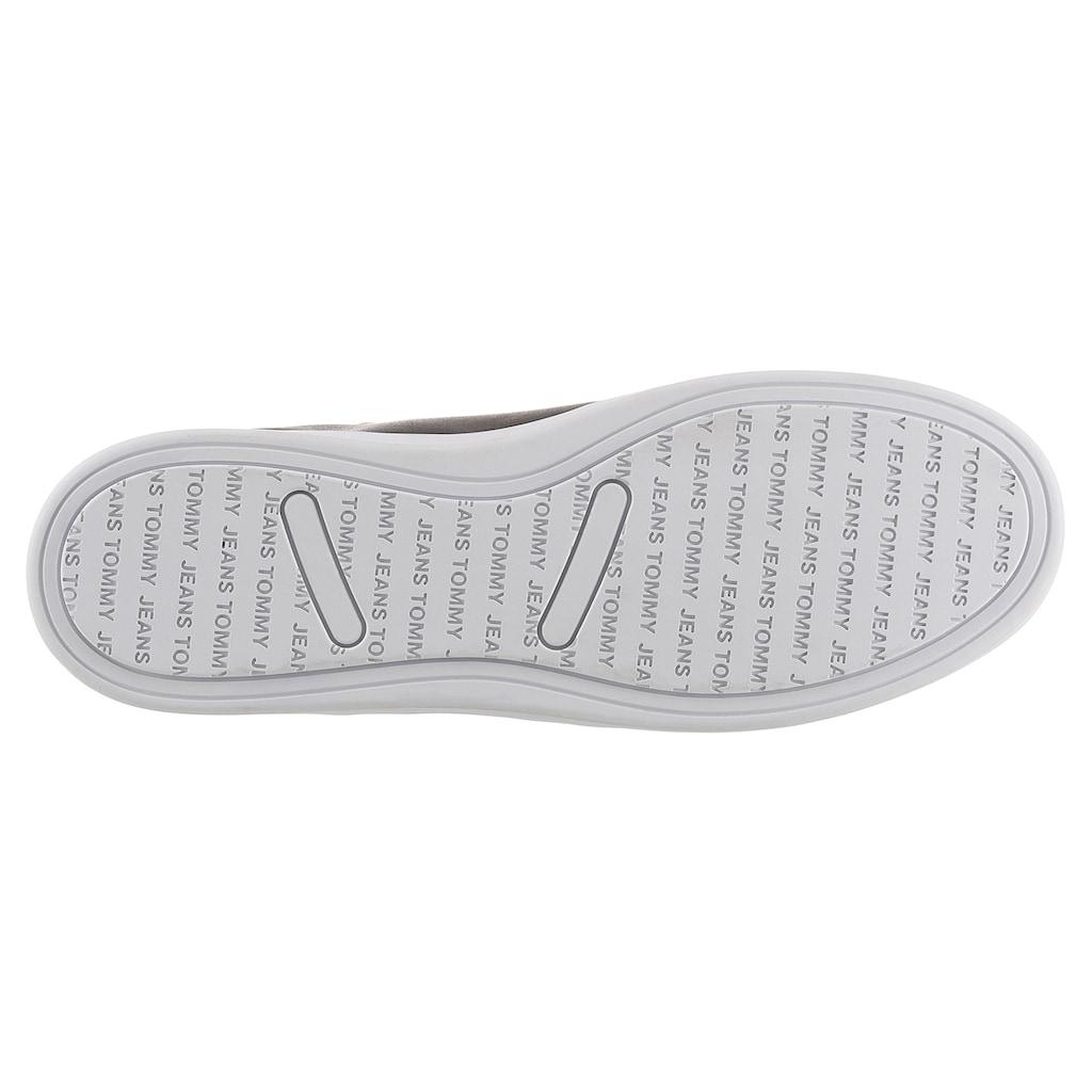 Tommy Jeans Sneaker »TOMMY JEANS CUPSOLE SNEAKER«, mit Logostickerei