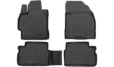 WALSER Passform-Fußmatten »XTR«, (4 St.), für Opel Vectra C Caravan Bj 10/2003 - 01/2009 kaufen
