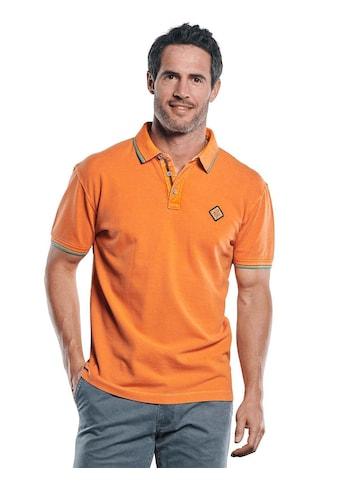 Engbers Poloshirt, mit dezenten Farbkontrasten kaufen
